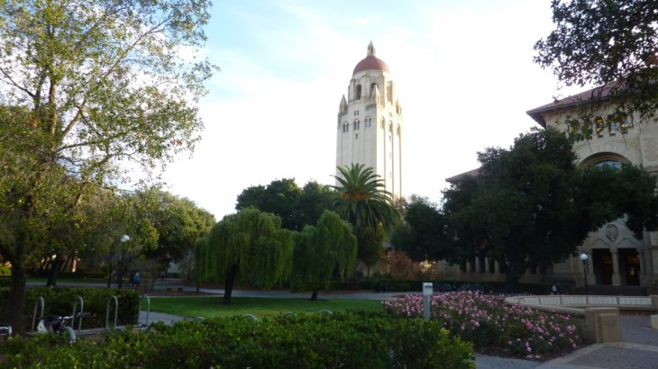 Hoover Tower w Stanford U